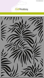 CraftEmotions Mask stencil - background leaves tropics A5