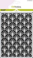 CraftEmotions Mask stencil - decorative arches Art Deco A5