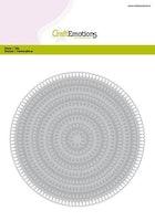 CraftEmotions Big Nesting Die - circles scalop