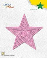 Nellies Choice Multi Frame Die - 5-Point Star