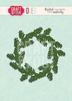 Craft&You Cutting Die -  Conifer Wreath