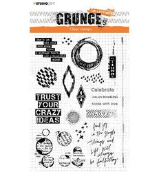 """Studio Light Clearstamp """"Elements Grunge Collection"""" STAMP43"""