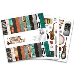 Piatek13 - Paper pad Free Spirit, 6x6''