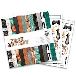 Piatek13 - Paper pad Free Spirit, 12x12''