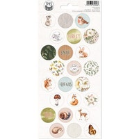 Piatek13 - Sticker sheet Forest tea party 03