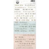 Piatek13 - Sticker sheet Forest tea party 01