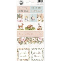 Piatek13 - Sticker sheet Forest tea party 02