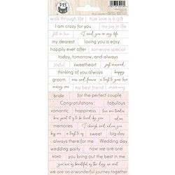 Piatek13 - Sticker sheet Always and forever