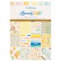 American Crafts Paper pad - Buenos días 6 x 8 Gold foil