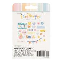 American Crafts - Dekorationer Buenos días Acrylic shapes