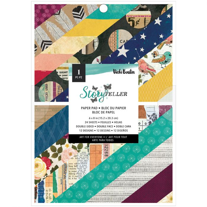 Vicki Boutin • Storyteller paper pad 6x8