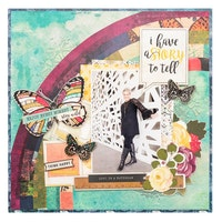 Vicki Boutin - Storyteller paper pad 12x12