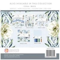 The Paper Boutique - Paper pad Floral waves 8x8