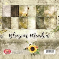 """Craft & You Paperpad """"Blossom Meadow"""" 6x6"""