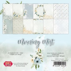 """Craft & You Paperpad """"Morning Mist"""" 6x6"""