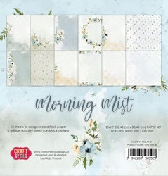 """Craft & You Paperpad """"Morning Mist"""" 12x12"""