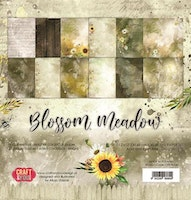 """Craft & You Paperpad """"Blossom Meadow"""" 12x12"""