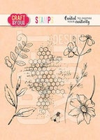 """CRAFT & YOU CLEARSTAMP """"Blossom Meadow"""""""