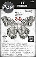 """SIZZIX/TIM HOLTZ 3D Embossingfolder """"Butterly"""""""