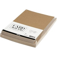 Craftfärgade Kort o Kuvert 10,5x15 - 50 pack