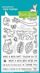 Lawn Fawn Clear Stamps - Toucan Do It