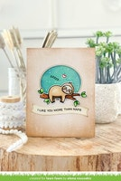 Lawn Fawn Clear Stamps - I Like Naps