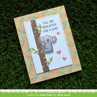 Lawn Fawn Clear Stamps - I Love You (Calyptus) Flip-Flop
