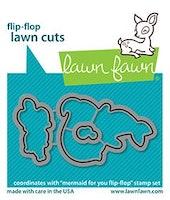 Lawn Fawn Dies - Mermaid For You Flip-Flop