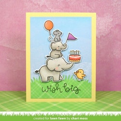 Lawn Fawn Clear Stamps - Elphie Selfie
