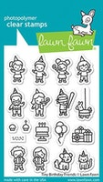 Lawn Fawn Clear Stamps - Tiny Birthday Friends