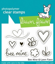 Lawn Fawn Clear Stamps - Bee Mine