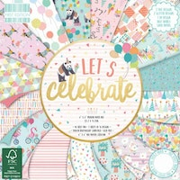 First Edition - Let's Celebrate 6x6 Inch Paper Pad