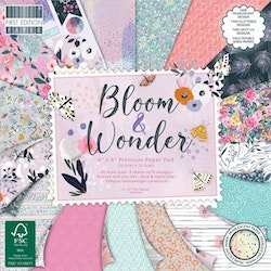 First Edition - Bloom and Wonder 6x6 Inch Paper Pad