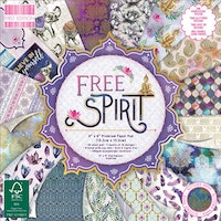 First Edition - Free Spirit 6x6 Inch Paper Pad