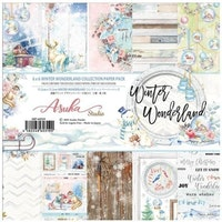 Memory Place - Winter Wonderland 6x6 Inch Paper Pack