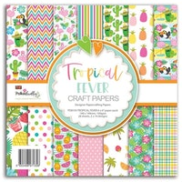 Polkadoodles - Tropical Fever 6x6 Inch Paper Pack
