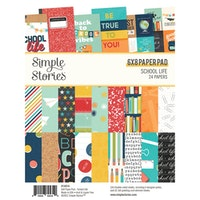 Simple Stories - School Life 6x8 Inch Paper Pad