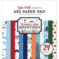 Echo Park - Under Sea Adventures 6x6 Inch Paper Pad