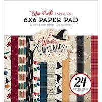 Echo Park - Witches & Wizards No.2 6x6 Inch Paper Pad