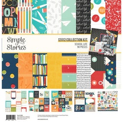 Simple Stories - School Life Collection Kit 12x12