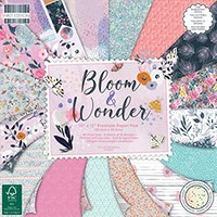 First Edition - Bloom and Wonder 12x12 Inch Paper Pad
