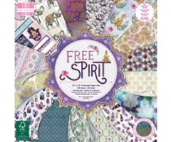 First Edition - Free Spirit 12x12 Inch Paper Pad