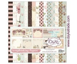 DayKa -Trade Flores 12x12 Inch Paper Pack