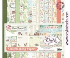 DayKa Trade - Fiesta Tropical 12x12 Inch Paper Pack
