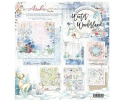 Memory Place - Winter Wonderland 12x12 Inch Paper Pack