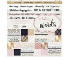 Memory Place - Words 12x12 Inch Paper Pack