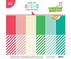 Lawn Fawn - Let it Shine 12x12 Inch Collection Pack