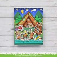 Lawn Fawn Clear stamps - S'more the Merrier