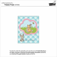 Lawn Fawn Clear Stamps - Happy Hugs