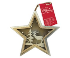 Papermania - Wooden LED Star Stag Trees